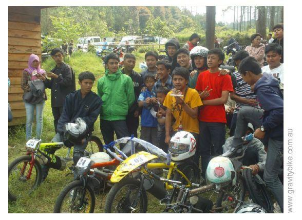 Indonesia Gravity Bike